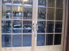 Bevelled Glass On Doors